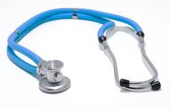 błękitny stetoskop Zdjęcia Royalty Free