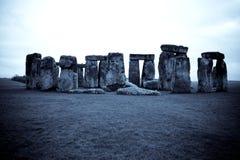 Błękitny Stonehenge Obrazy Stock