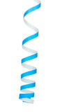 błękitny streamer Zdjęcie Stock