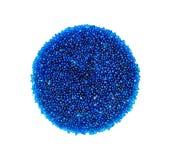 Błękitny sylikatowy gel zdjęcia stock