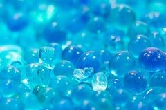 Błękitny sylikatowy gel fotografia royalty free