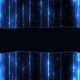 Błękitny szablon. Zdjęcia Stock