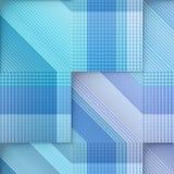 Błękitny szablon. Obrazy Stock