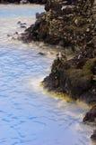 błękitny szczegółu Iceland laguna Zdjęcie Stock
