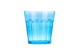 błękitny szkło Fotografia Royalty Free