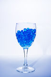 błękitny szkło Obrazy Royalty Free