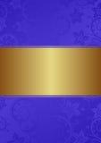 Błękitny tło Zdjęcia Royalty Free