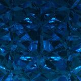 Błękitny tło biżuterii Gemstone Obraz Stock