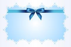 błękitny tło faborek ilustracja wektor