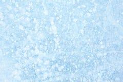 Błękitny tło Lodowa tekstura Obraz Stock