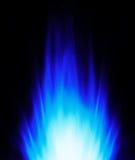 błękitny tło płomień Obraz Stock