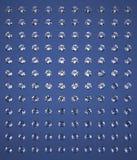 Błękitny tło z brylantami Obrazy Royalty Free