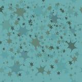 Błękitny tło z małymi gwiazdami Royalty Ilustracja