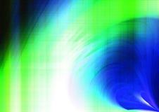 błękitny tło zieleń Zdjęcia Royalty Free