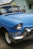 błękitny taksówki Cuba Havana taxi rocznik obraz stock