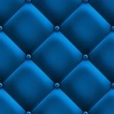 błękitny tapicerowanie Fotografia Royalty Free