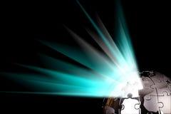 błękitny target355_0_ ziemska kula ziemska ziemski Fotografia Stock