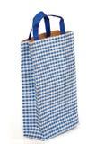 błękitny torba papier Zdjęcia Stock