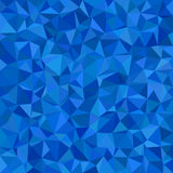 Błękitny trójbok płytki mozaiki tło - wielobok wektorowa ilustracja od trójboków ilustracji