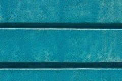 Błękitny tynk na fasadzie nowożytna budynku tła tekstura Obrazy Stock