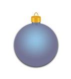Błękitny Wakacyjny ornament z płatkami śniegu Zdjęcia Royalty Free