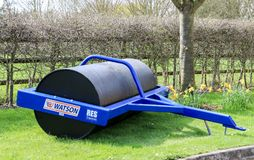 Błękitny Watson gospodarstwa rolnego rolownik Zdjęcia Stock