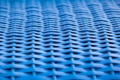 Błękitny Wickerwork szczegół Zdjęcie Royalty Free