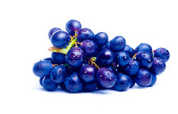 błękitny winogrona Zdjęcie Royalty Free