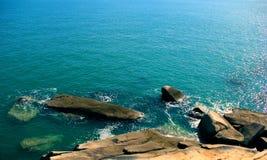 błękitny woda morska Zdjęcie Stock
