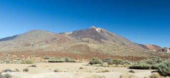 błękitny wulkan Obrazy Royalty Free
