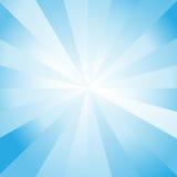 błękitny wybuch Zdjęcia Royalty Free