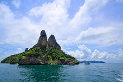 błękitny wysp krabi niebo Thailand Zdjęcie Stock