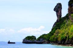 błękitny wysp krabi niebo Thailand Obraz Royalty Free