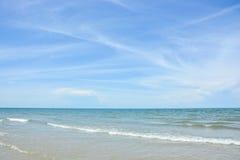 błękitny wyspy królestwa koh phangan fotografujący denny niebo Thailand tropikalny Zdjęcie Stock