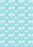 Błękitny wzór wiele candys Obrazy Stock