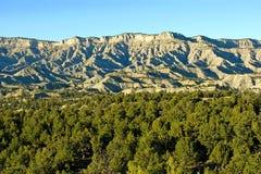 błękitny wzgórza Zdjęcie Royalty Free