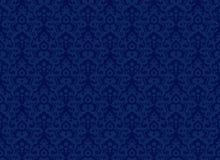 Błękitny wzory Obrazy Royalty Free