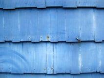 błękitny zakurzony gonciany drewniany Fotografia Royalty Free