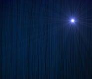błękitny zasłona Obrazy Royalty Free