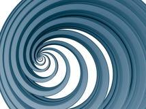 błękitny zawijas ilustracji