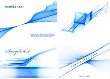 błękitny zestaw royalty ilustracja