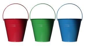 błękitny zieleni czerwień Zdjęcie Stock