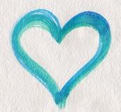 błękitny zieleni kierowy kształt royalty ilustracja