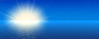 błękitny zmierzch Zdjęcie Royalty Free