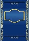 błękitny zmroku ramy gradientu wektor royalty ilustracja