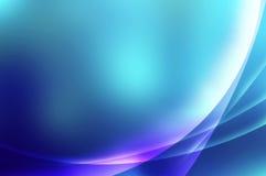 Błękitny zorzy tło ilustracji