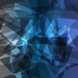 Błękitnych szarość abstrakta tła Zdjęcie Stock