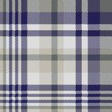 Błękitnych szarość czeka tekstylny bezszwowy wzór Obraz Royalty Free