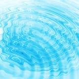 Błękitnych wod abstrakcjonistyczne czochry Obrazy Stock