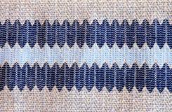 Bławy kolor tkaniny tkaniny tło Obrazy Stock